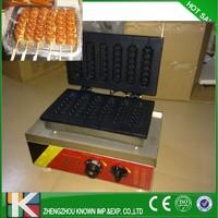Muffin hot dog lolly stick machine /hot dogs machine /lolly hot dog waffle lolly waffle maker