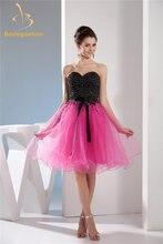 Женское бальное мини платье с блестками открытой спиной и бисером