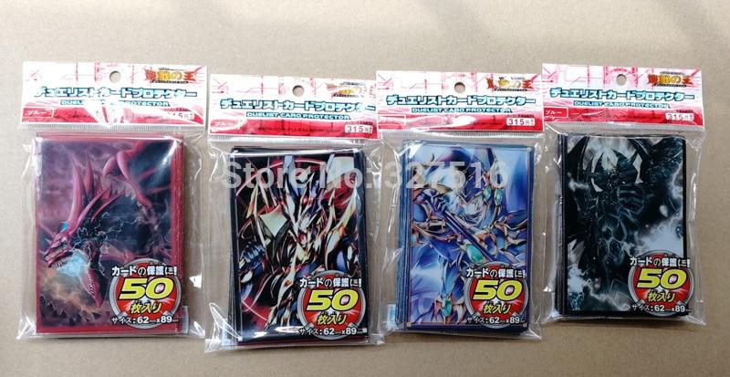 10 տուփ / լոտ (500 հատ) Անիմե Yu-Gi-Oh! Dark Magician - Խաղային արձանիկներ - Լուսանկար 3