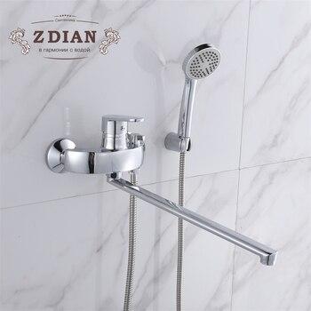 Bad Duscharmaturen Wand Befestigter Badezimmer Badewanne
