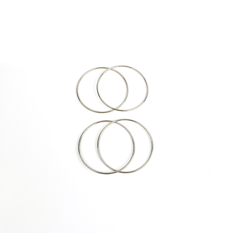10cm-Four-Chain-Chinese-Ring-Close-Up-Magic-Trick-Props-Close-Up-Magic-Classic-Toys-3