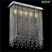 Modern Crystal Ceiling Light Fixture Lustres Lamp With Real K9 Crystals High Quality Lighting For Living