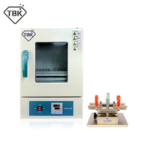 TBK 928 LCD Dismantle Machine manual frame Separator + TBK 228 electronic Heating And Air Blow Seperating Roaster LCD Repairing