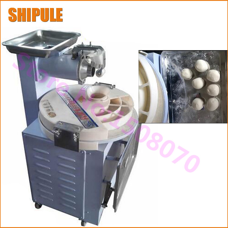 SHIPULE 2018 commercial dough divider rounder block rounding machine automatic cutting machine bread machine for small business mtj practical dough machine high quality bread dough cutter and rounder machine dough ball making machine 220v 380v 1pc
