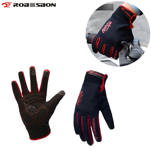 ROBESBON Windproof Outdoor Sports Gloves Tactical Mittens for Men Women Bicycle Cycling Motorcycle Hiking Skiing Winter