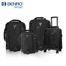 цена на high quality Benro SLR camera trolley case series 1000 1500 2000 3000 trolley camera bag with Rain cover