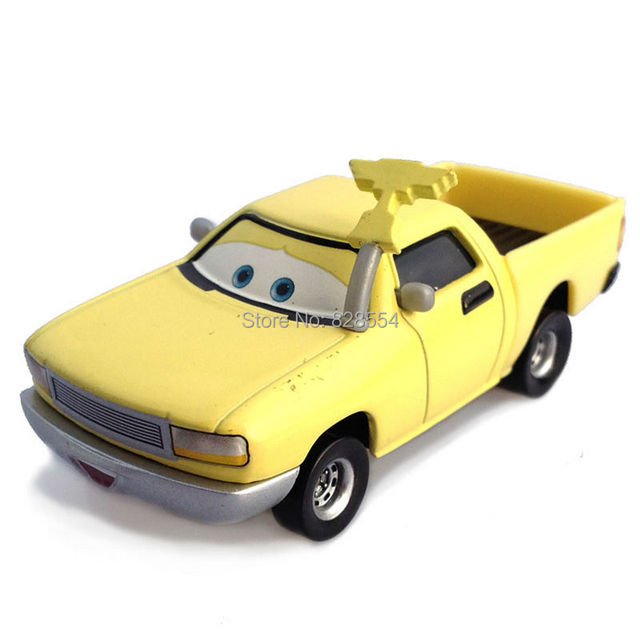 baby free shipping classic toys pixar cars 2 yellow pickup truck