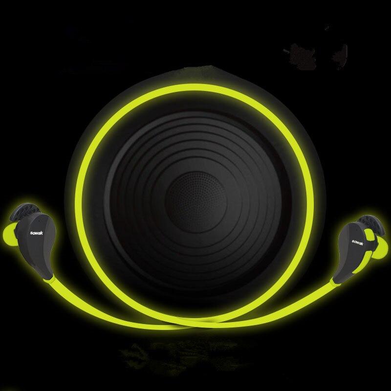 все цены на New Bluetooth 4.0 4.1 Sport Earphone Hand Free Wireless Bluetooth Headset Earphone Sports In-ear for iPhone 5 6 7 Samsung Phone онлайн