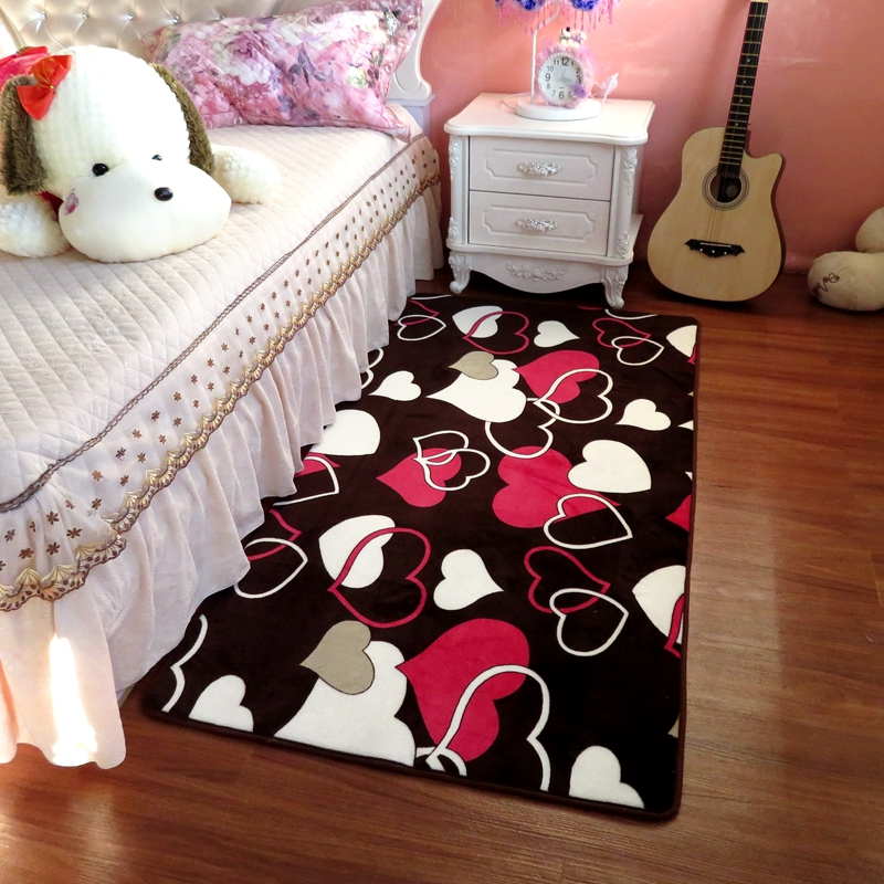 Home Decor Floor Carpet Rugs For Living Room Soft Long Bedside Mat ...