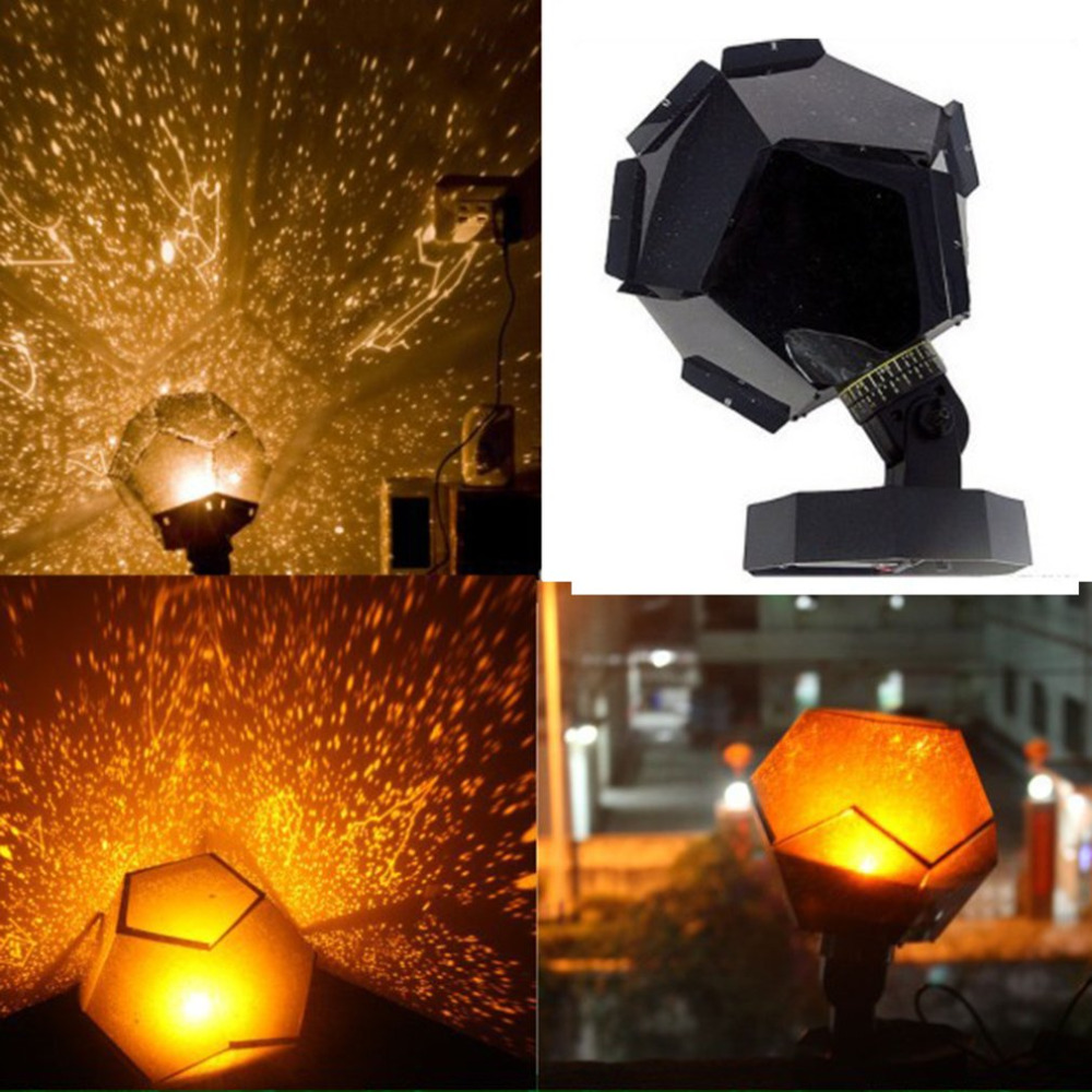 New Year Celestial Cosmos Astro Star Sky Projector Light Childrens Bedroom Starry Night Light Decoration Best Gift Portable