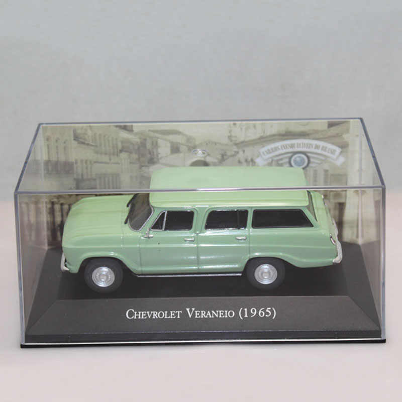 IXO 1:43 Chevrolet Veraneio 1965 Metal Diecast Toy Car Models  Christmas Present Light Green
