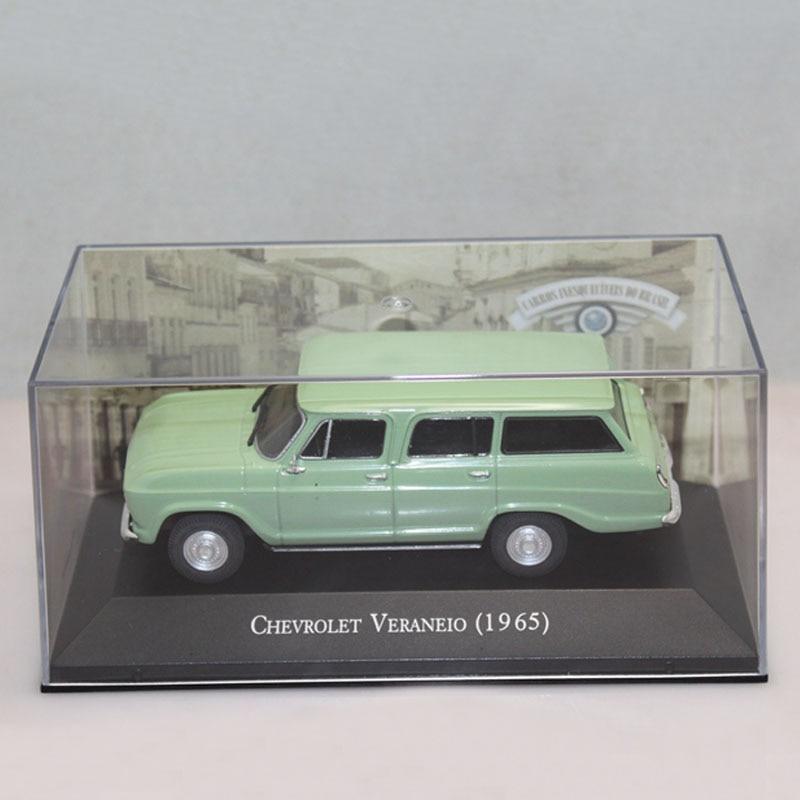 IXO 1:43 Chevrolet Veraneio 1965 Metodysformade Toy Car Modeller Jul Present Light Green