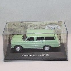 IXO 1:43 Chevrolet Veraneio 1965 métal moulé sous pression jouet voiture modèles noël présent vert clair
