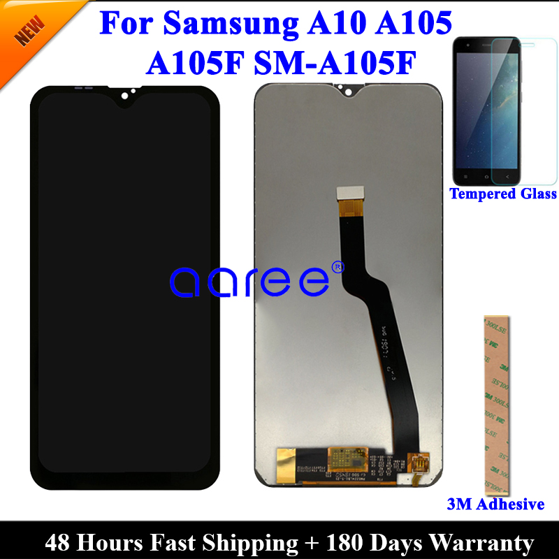Image 4 - Super AMOMLED Original LCD  For Samsung A10 A105 LCD  For Samsung M10 M105F LCD Screen Touch Digitizer Assembly-in Mobile Phone LCD Screens from Cellphones & Telecommunications on