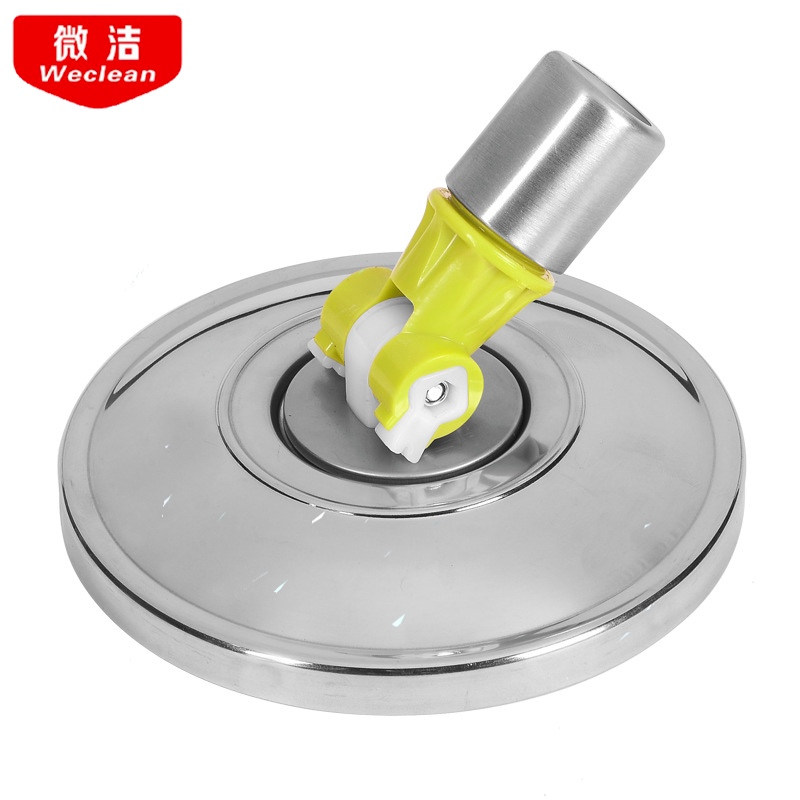 Random Color Mop Head Revolving Stainless Steel Household Floor Mop Head Replacement Automatic Mop Head Spin Cleaning Home Tools