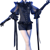 [STOCK] 2018 Hot New Anime Land of the Lustrous Lapis Lazuli Sexy Dress Colth Uniform Cosplay Costume For Halloween FreeShipping