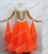 Modern Waltz Tango Ballroom Dance Dress, Smooth Ballroom Dress, Standard Ballroom Dress ,sizeS/ L/ M/ LL B-0013