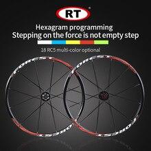 2017 neueste RT Mountainbike Fahrrad Sechs Sterne Stil vorderen 2 hinten 5 lager japan hub super glatte rad laufradsatz 26 27,5