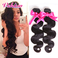 4 Bundles Peruvian Virgin Hair Body Wave 8A Peruvian Virgin Hair Bundle Deals Human Hair Weave Bundles V SHOW peruvian body wave