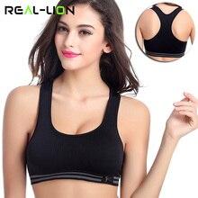 RealLion, женский жилет, спортивный бюстгальтер, топы, для бега, бодибилдинг, камзол, женское нижнее Белье для сна, одежда для спортзала, цельная, эластичная одежда для йоги