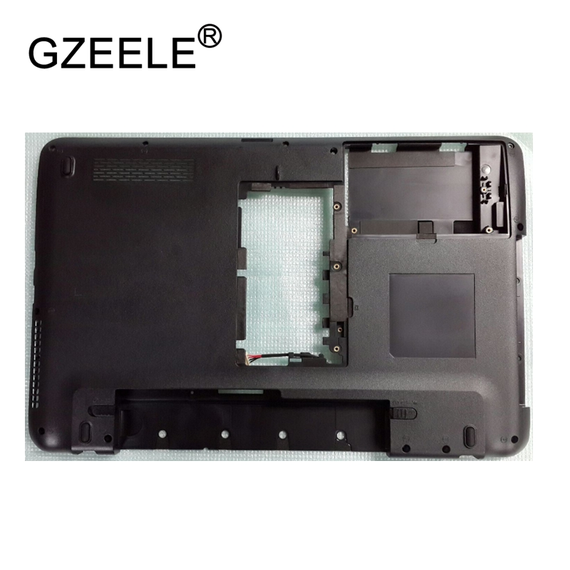 GZEELE New Laptop Bottom Base Case Cover Assembly For Toshiba L650 L655 black Base Chassis D Case shell lower case new case cover for lenovo g500s g505s laptop bottom case base cover ap0yb000h00