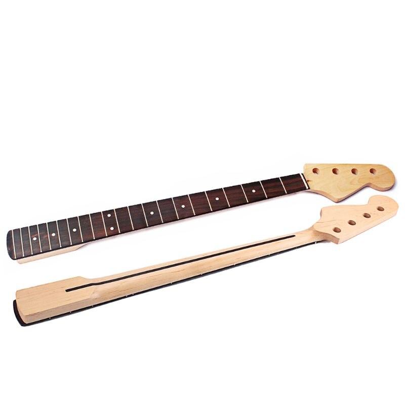 Manche de guitare basse pour FD 4 cordes 21 frette main droite érable palissandre