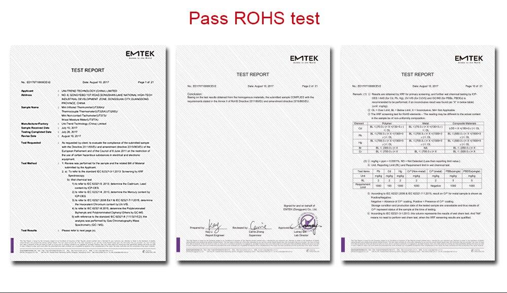 de umidade higrômetro UNI-T ut377a para papel