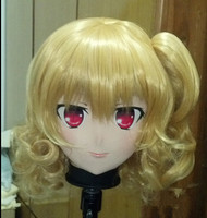 (C2 065) Top Quality Handmade Female Silicone Rubber Face Mask Cosplay Kigurumi Masks Crossdresser Doll Kigurumi Anime Role Play