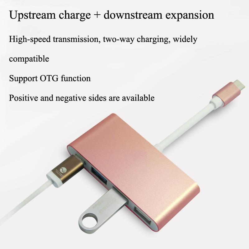 New Multiport Hub Type C USB 3 1 USB C to 4 Port Hub USB VGA