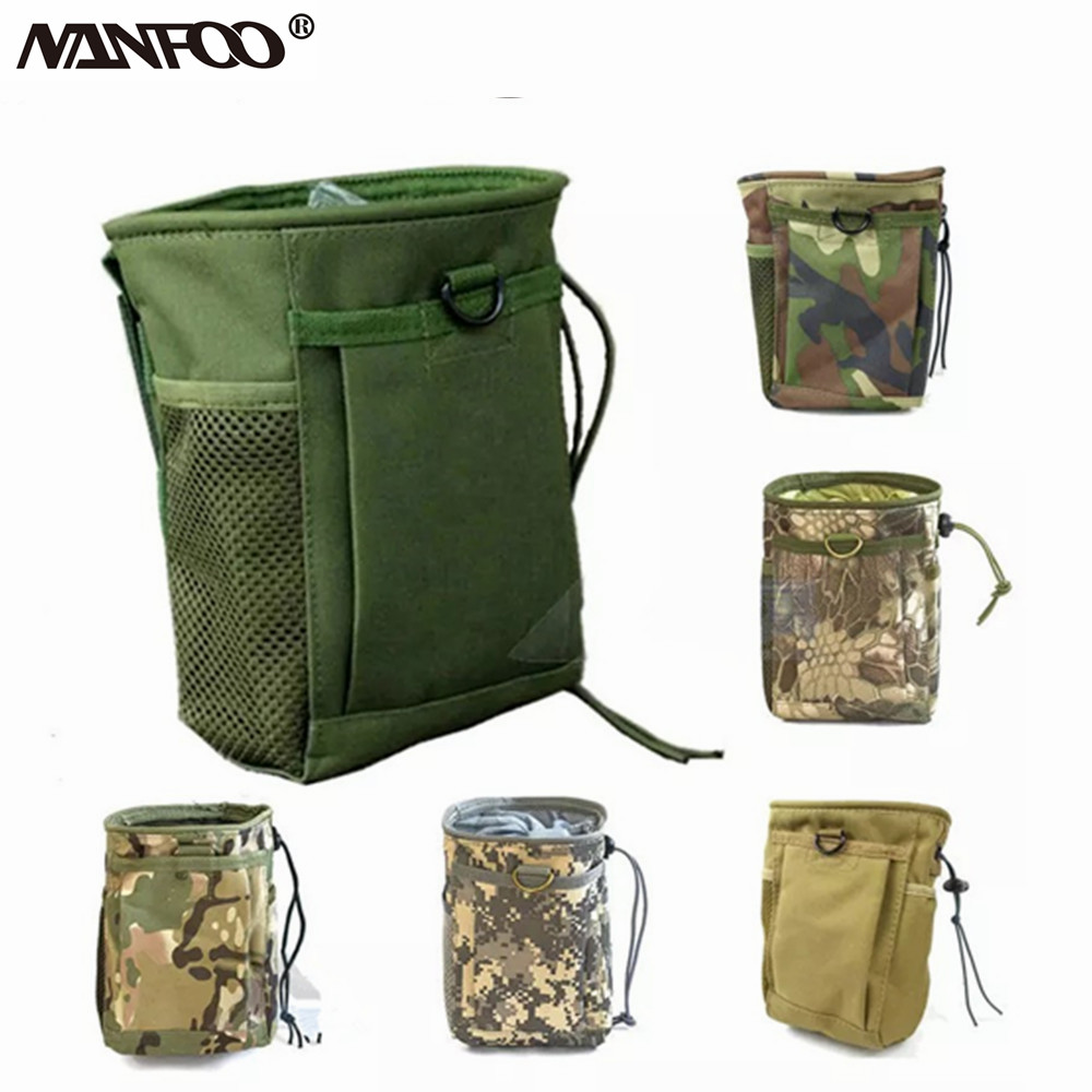 Waist Camo Bag Pack Pouch Outdoor Hunting camping with Bullet Pockets 8 Pocket