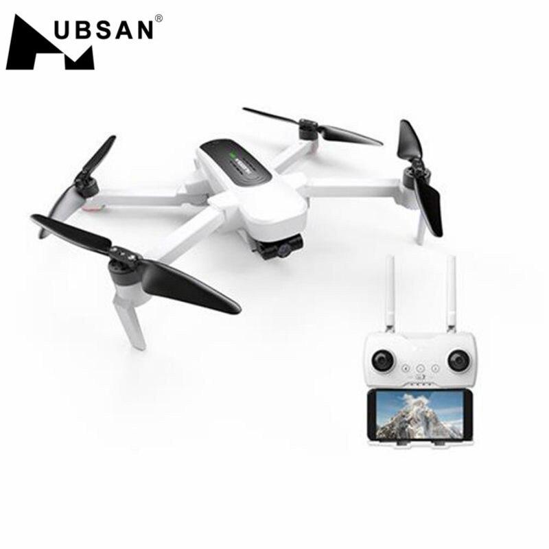 H117S Zino GPS 5G WiFi 1KM FPV Hubsan com Câmera 4K UHD 3-Eixo Cardan RC zangão Quadcopter RTF Preto/Branco