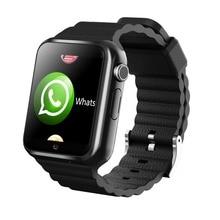 3g Wifi GPS LBS Rastreador Smartwatch Relógio Inteligente da Tela de Toque de Fitness Monitor de Segurança Camera SOS Para iOS Android V7W