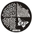 Лучший Курс Новый Хорошее Качество 2016 Бабочки Nail Art Image Stamp Штамповка Плиты Маникюр Шаблон Nail Art Инструмент 1 ШТ.