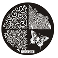 Best Deal New Good Quality 2016 Butterfly Pattern Nail Art Image Stamp Stamping Plates Manicure Template Nail Art Tool 1PC
