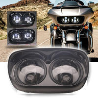 5.75 Projector Dual LED Motorcycle Headlights For Harley Road Glide 2004 2013 Harley Motorcyc;le Accessories