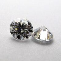 1 Carat /Bag GH color 2.00MM Moissanite stone Brilliant Cut moissanite diamond