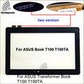 Para asus transformer book t100 t100ta tela sensível ao toque do painel de vidro digitador com tela sensível ao toque de 10.1 polegada