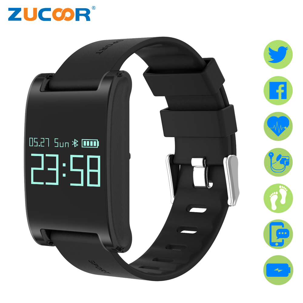 ZUCOOR Smart Bracelet Fitness Wristband Cardiaco Pulse Monitor DM68 Pulseira Inteligente Band Tracker Wearable Devices Pk