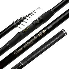 3.6M 4.5M 5.4M 6.3M Ultra Light Carbon Feeder Fishing Rod Telescopic Rock Fishing Rod Portable Travel Sea Lake Fishing Rod A123 стоимость