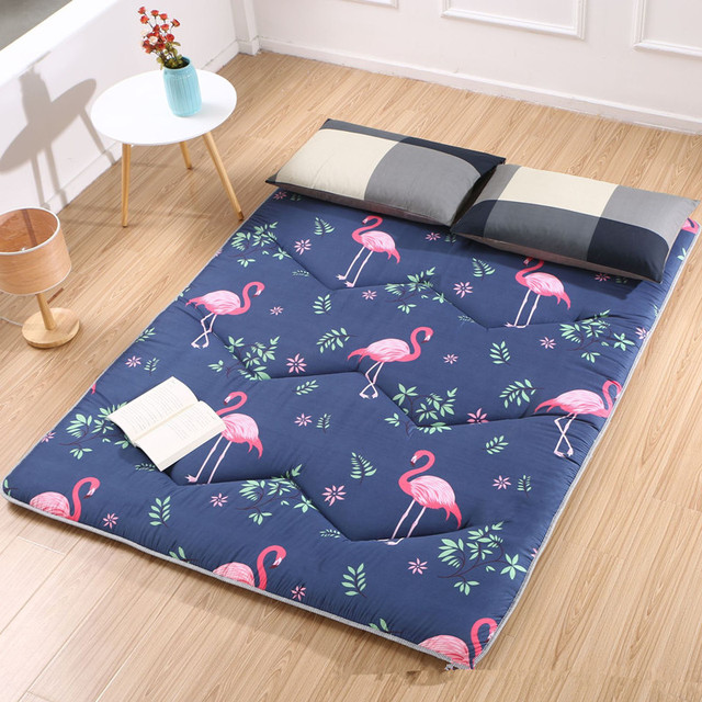 2018 winter bedspread warm Bed pad Patchwork bedcovers printed Camo fleece bedding 3cm thicken bedclothes cotton-padded mattress