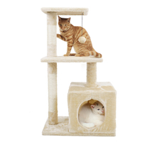 Domestic Delivery Animal Luxury Furniture PAWZ Road Cat Tree Pet House Furniture Cat Toys Scratching Post Wood Climbing Tree