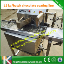 Free shipping chocolate enrobing machinery for chocolate with 15 kg per batch