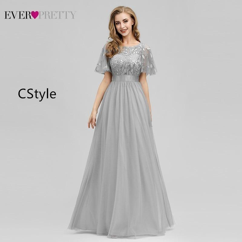 Robe De soirée jamais assez Sexy sirène robes De soirée longue étincelle drapée Tulle robes formelles élégantes femmes robes De soirée 2019 - 3