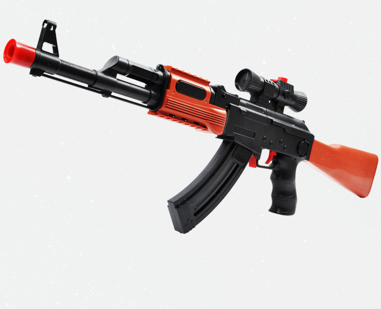 PAINTBALL GUN SOFT BULLET GUN PLASTIC TOY PISTOL AK47 CS GAME SHOOTING  WATER CRYSTAL GUN NERF AIR SOFT GUN MILITARY MODEL-in Toy Guns from Toys &  Hobbies on ...