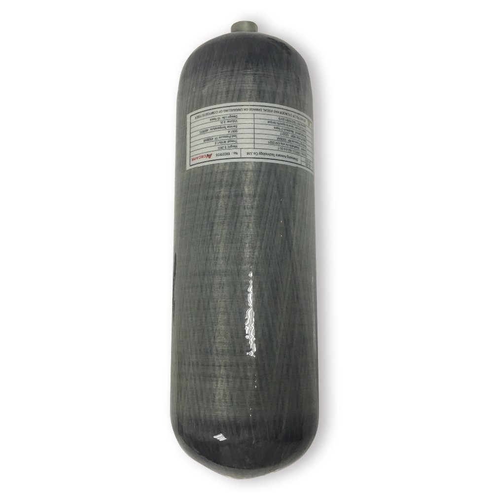 AC109 Compressed Air Cylinder Paintball PCP HPA 4500PSI Air Tank Carbon Fiber Gas SCUBA Diving Tank For Hunting Acecare