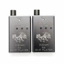 100% Más Nuevas de DIY MP3 Zishan Z2 MP3 HiFi Reproductor de Música Sin Pérdidas Reproductor de música Soporte USB tarjeta de Sonido DAC AK4490 Z1 Versión de Actualización