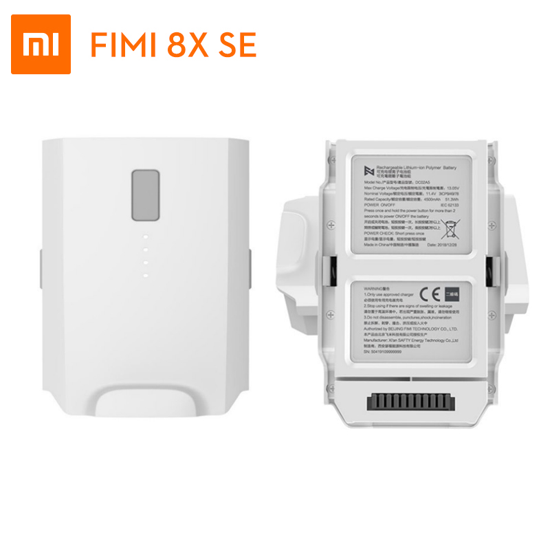 In stock Xiaomi FIMI X8 SE original battery 11 4V 4500mah FPV With 3 axis Gimbal