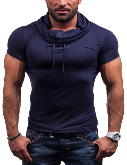2016 Mens Breathable Solid Polo New Men's Clothing Fitness Short Sleeve Polo Shirts Casual Undershirt