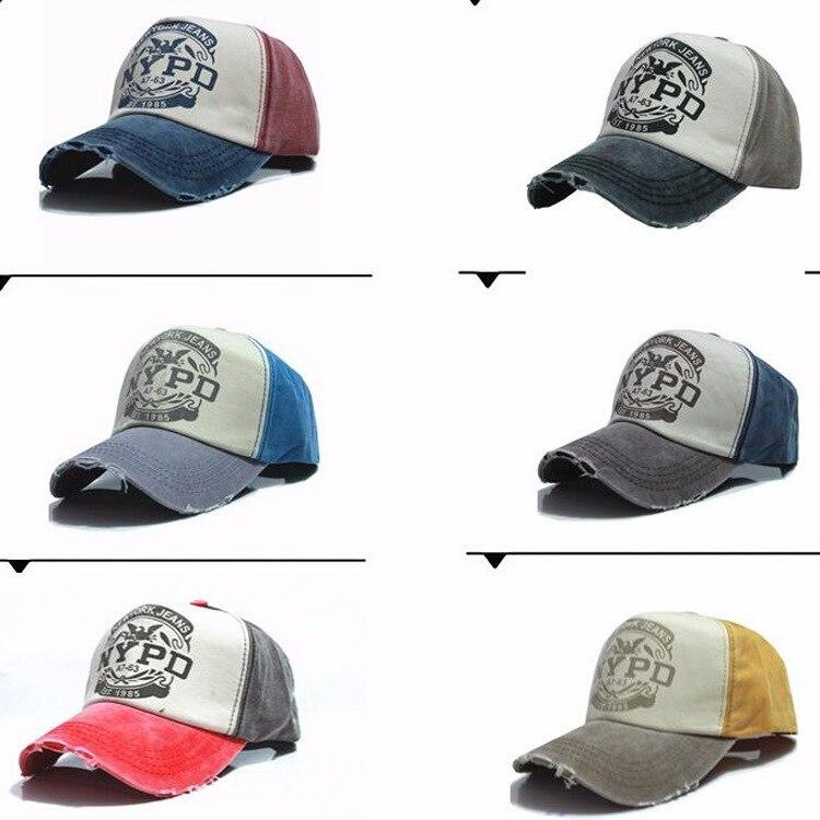 1 PCNew Unisex Boné de Beisebol Cap Motocicleta Algodão Moagem Fazer O  Velho chapéu (sem pacote de varejo) e70b9655b49