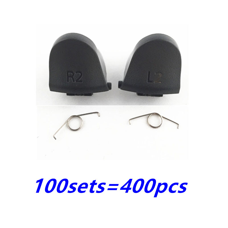 Купить с кэшбэком For Playstations 4 JDS 040 JDM 040 Controller Trigger Spring L1 R1 L2 R2 Repair Parts Buttons For PS4 Pro Triggers Button 100SET